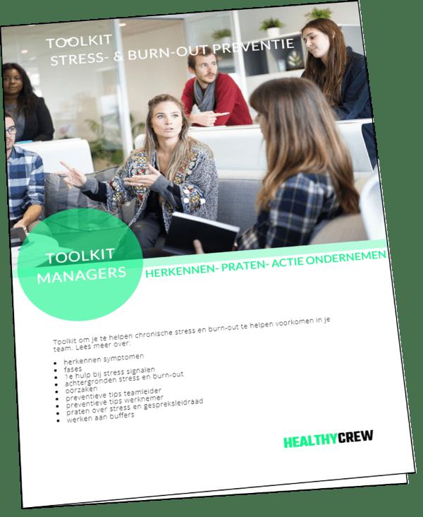 Toolkit Vitaliteit voor bedrijven - de Healthy Crew