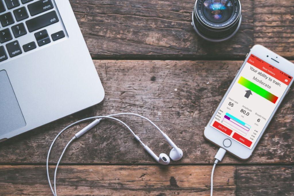 zelf stress meten met de lifestyle app